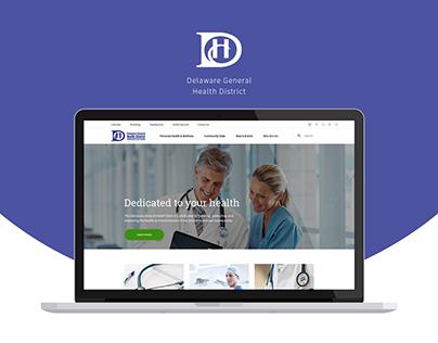 Delaware General Health District - Redesign
