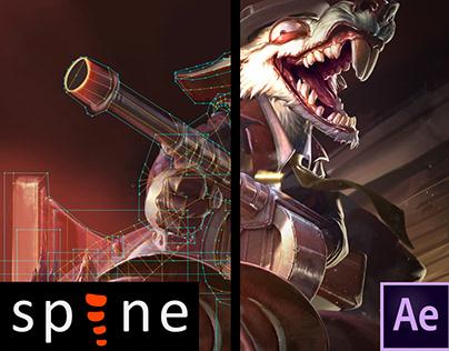 Spine | Gangster | Login Screen - League of Legends