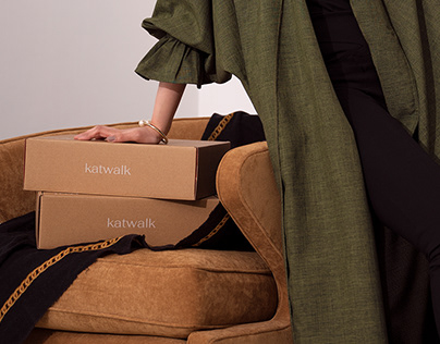 katwalk - Brand identity, packaging, digital collateral