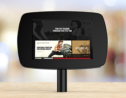 Life Time Fitness - iPad Self Discovery