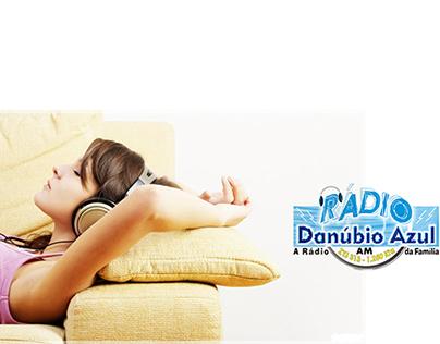 Banners Rádio Danúbio Azul