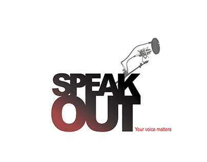 Poster: Speak out. Your voice matters.