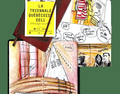 Triénale Québecoise 2011 / Dessins