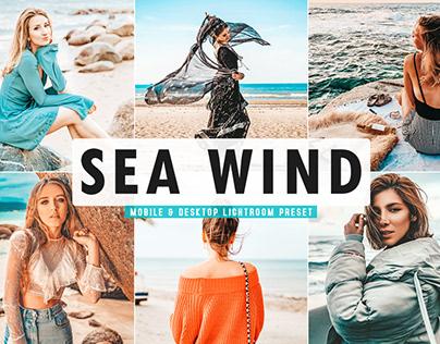 Free Sea Wind Mobile & Desktop Lightroom Preset