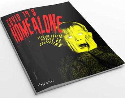 Zine Covid 19´s Home Alone para Dyslexia Editora
