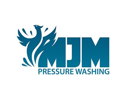 MJM Pressure Washing Logo and Video Intro