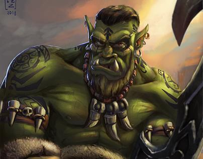 Go'el the Orc