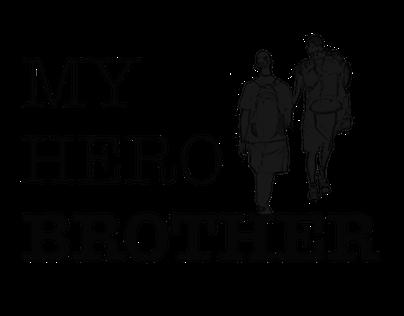 MY HERO BROTHER - web design