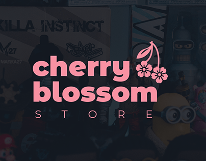 Cherry Blossom Store   Identidade Visual