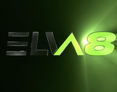 ElVA8 Logo indent