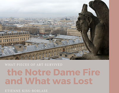 Etienne Kiss-Borlase | Art Lost in Notre Dame Fire