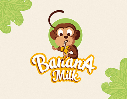 Banana Milk - Branding and Tetra Pak packaging