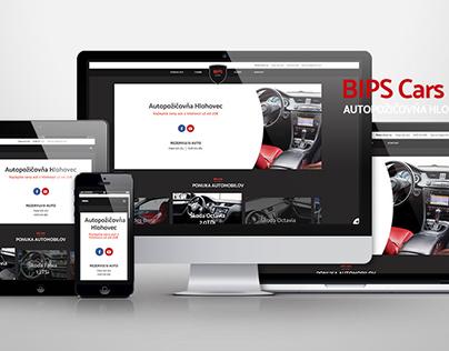 BIPS Cars - website