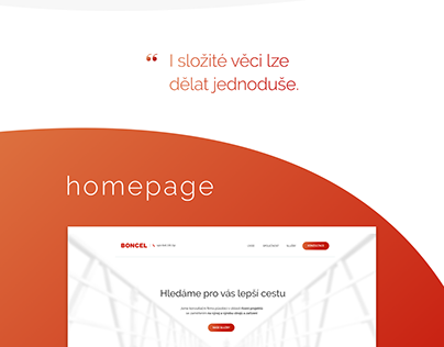 Web Design Boncel - first