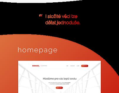 Web Design Boncel - first