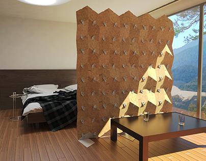 Hemp Room Divider