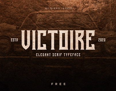 VICTOIRE - FREE FONT