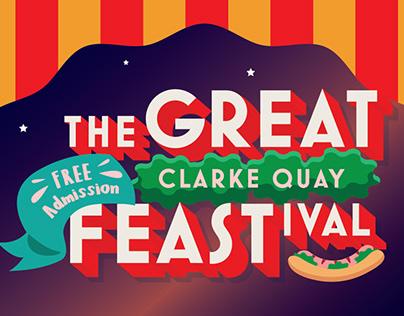 Clarke Quay: The Great CQ Feastival