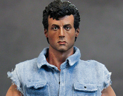 1/6 Sylvester Stallone (Lincoln Hawk)