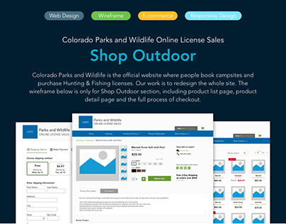 Colorado Parks and Wildlife Online License Sales