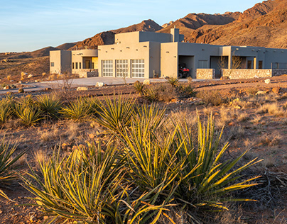 Photographing a Desert Contemporary Smart Home