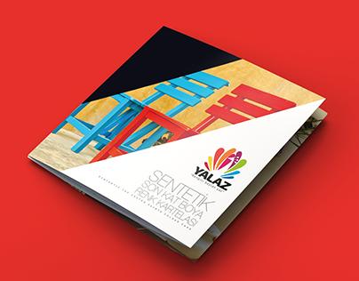 YALAZ BOYA - Synthetic Top Coated Colour Card