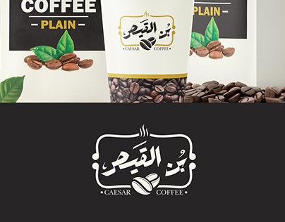 CAESAR COFFEE LOGO & PACKAING