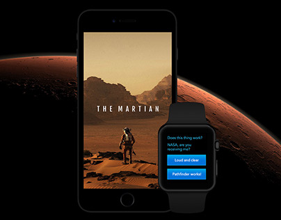 The Martian Official iOS and Apple Watch Game