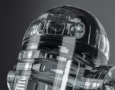 R2-SeeThru - Adobe Dimension - #PrimitivesOnly