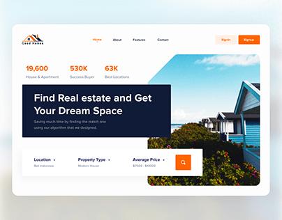 Home Finder web Exploration