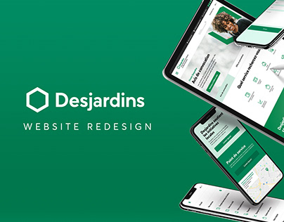 Desjardins Website Redesign