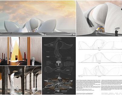 Center for Harmony / Undergraduate Thesis Project