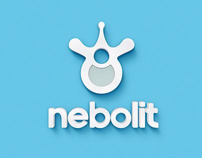 Nebolit medical center corporate identity