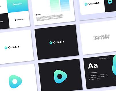Omedia Logo Design - Modern Play logo