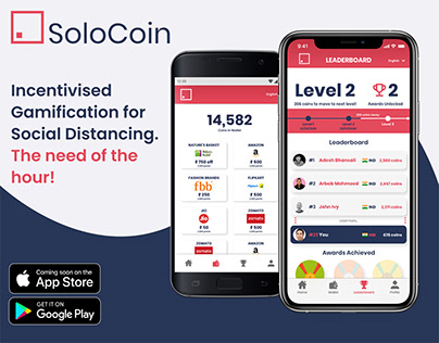 SoloCoin - Gamifying Social Distancing for Covid19