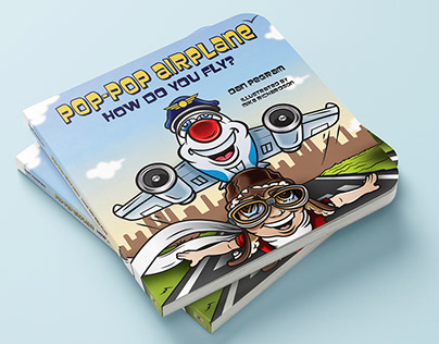Pop Pop Airplane Children's Book