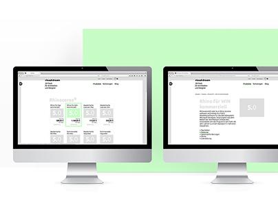 Visual Dream e-shop
