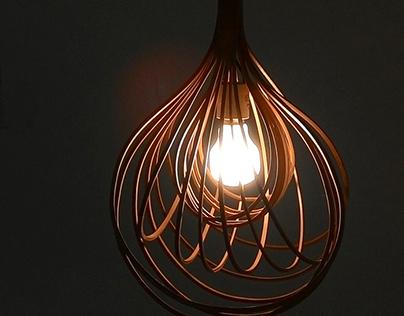 Bamboo light bulb