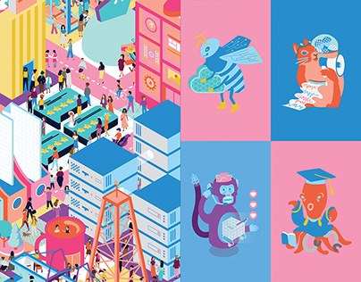 Where Are You, ____?   Isometric Digital Worlds