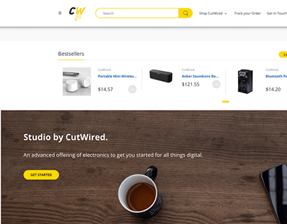 Developing an electronics Ecommcerce store with Shopify