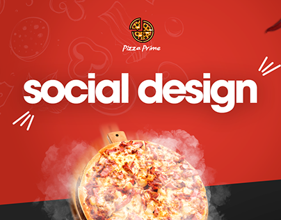 Pizza Social Media Design