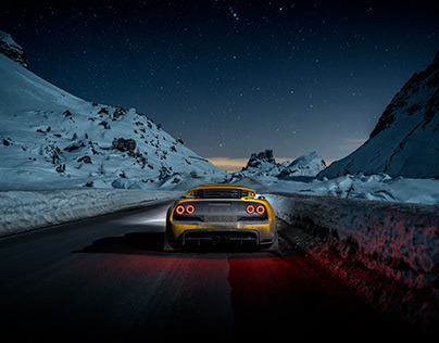 Exploring the Dolomites in my Lotus Exige