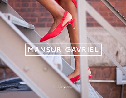 Mansur Gavriel Ad Campaign