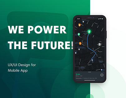 UX/UI Design for EV Charger App - Case Study