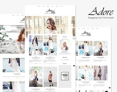 Adore - Beauty Fashion Blog Theme