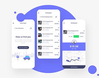 Parking Slot App Concept