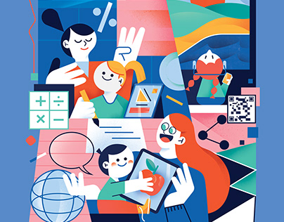 Illustrations for UPPA Magazine