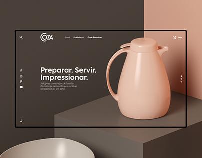 Coza Website