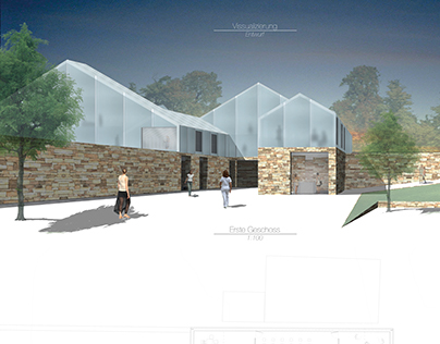 Barns-rehabilitation into workspaces and art museum
