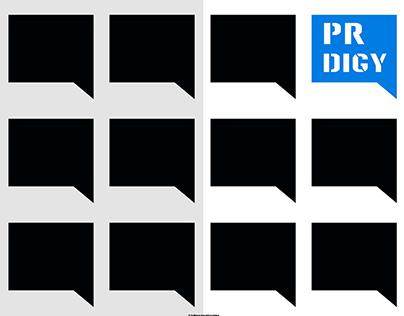 Logotype for PR department